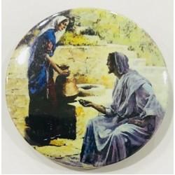 زر تعليق - يسوع والمرأة السامرية