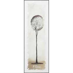 لوحة خشب - السلام