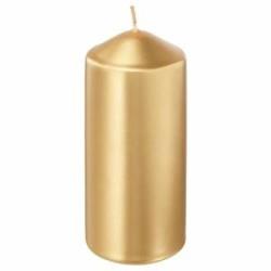 شمع لون ذهبي - 15 سم