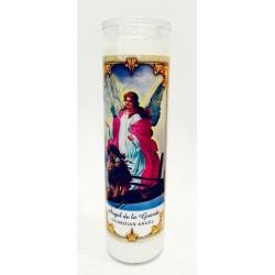 شمع زجاجي - الملاك الحارس - 20سم