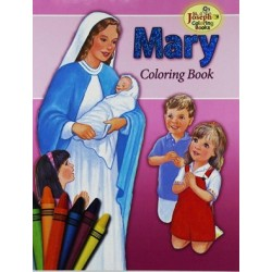 mary - coloringbook