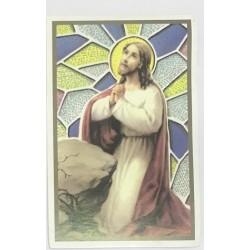 صورة يسوع المصلي - حجم 11 * 7