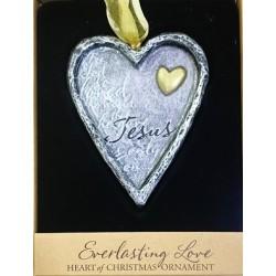 القلب مع قلب الذهب الأبدي