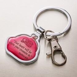 تعليقة مفتاح - سوف يكون قلبك مكان كنزك
