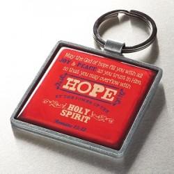 تعليقة مفتاح - ليملاكم اله الرجاء كل سرور وسلام في  الايمان لتزدادوا في الرجاء بقوة الروح القدس