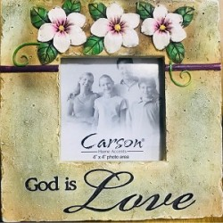 اطار صورة - الله هو الحب