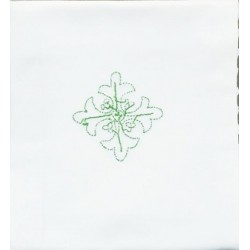 صمدة  - تطريز - صليب اخضر