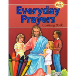 EVERYDAY PRAYERS - COLRING BOOK