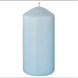 شمع لون سمائي - 15 سم