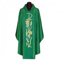 بدلة قداس - اخضر - p مع صليب