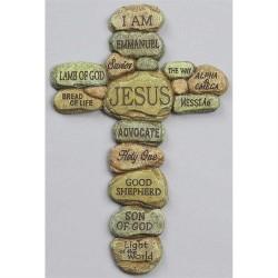 صليب حجر - اسماء يسوع