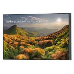 لوحة خشب - خطة الله لحياتك
