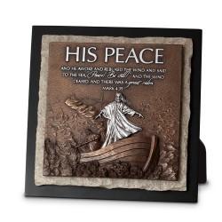 منظر طاولة وتعليق - سلامهُ - مرقس 4:39