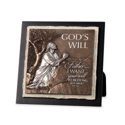 منظر طاولة وتعليق - وعد الله - لوقا 22:42