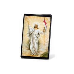 منظر طاولة صورة يسوع القائم