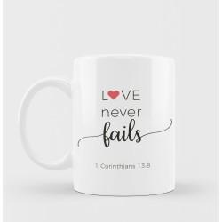 مج -love never