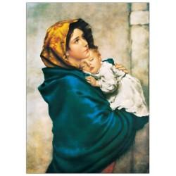 صورة العذراء والطفل يسوع - حجم كبير