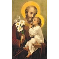 صورة القديس مار يوسف والطفل يسوع - حجم كبير